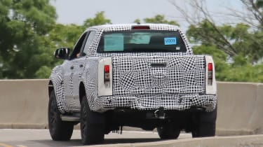 Ford Ranger Raptor spy - rear