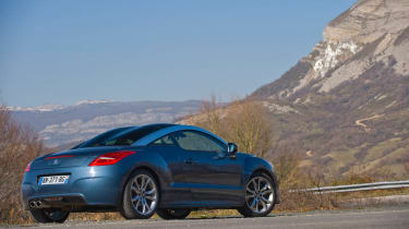 Peugeot RCZ 1.6 THP 200 sports coupe review