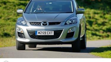 Mazda CX-7 front cornering