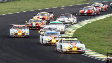 GTE class cars - FIA WEC Brazil