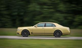 Bentley Mulsanne Speed - profile