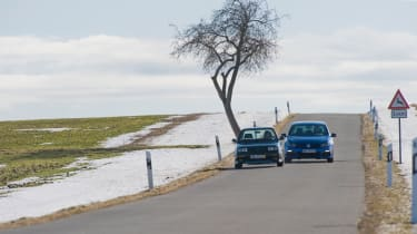 VW Golf R vs Golf Rallye