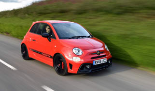 Abarth 595 front