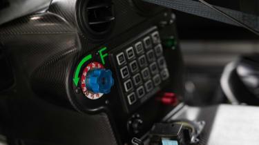 2018 Aston Martin Vantage GTE – centre console