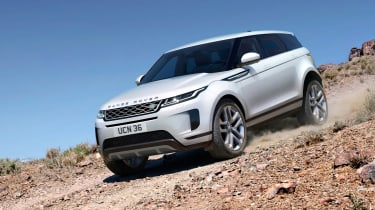 Range Rover Evoque - front off road