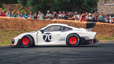 Porsche 935 Tribute Goodwood side
