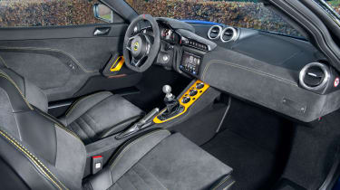 Lotus Evora GT410 - interior