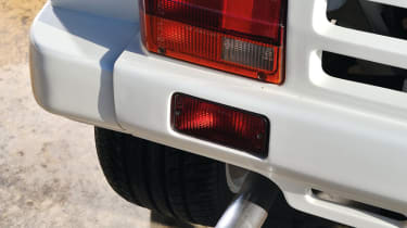 MG Metro 6R4 Clubman rear light