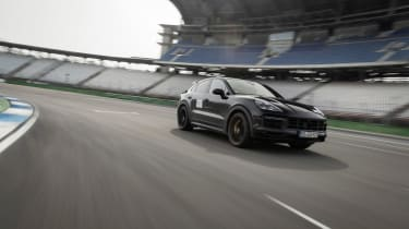 Porsche Cayenne Coupe Turbo S - proto front