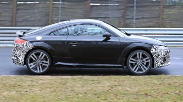 Audi TT facelift - side