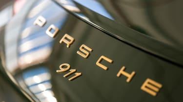 Porsche 911 Carrera - 1 millionth car badging
