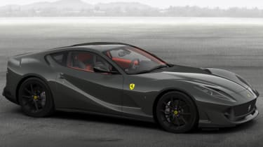 Ferrari 812 Superfast configured grey