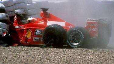 British F1's greatest moments - Schumacher
