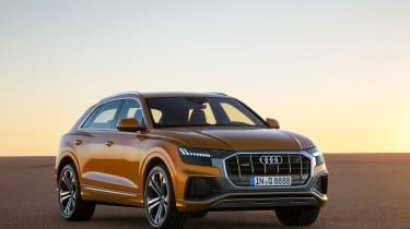 Audi Q8 TDI - front