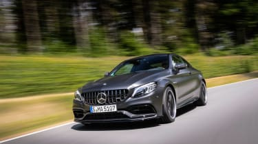 2019 Mercedes-AMG C63 – front