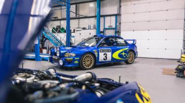 Subaru Impreza S6 WRC – front quarter factory