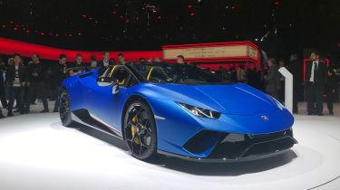 Lamborghini Huracan Performante Spyder - front