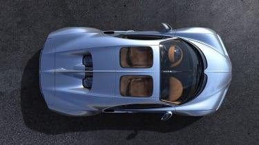 Bugatti Chiron Sky View top