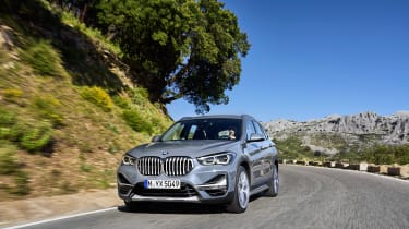 BMW X1 facelift 2019 - front