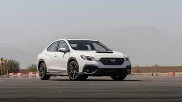 All-new 2022 Subaru WRX GT – front quarter static