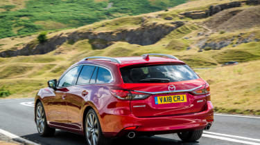 Mazda 6 MY18 review - tail