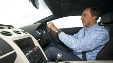 Lamborghini Gallardo Balboni interior