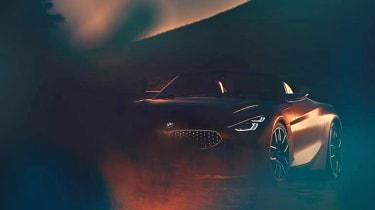 BMW Z4 concept teaser