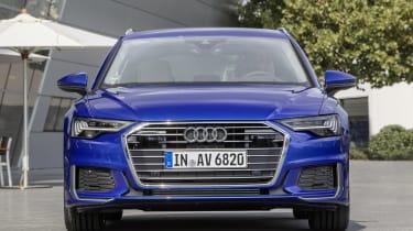 Audi A6 2018 Avant first drive - nose