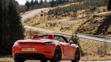 Porsche 718 Boxster S - static rear