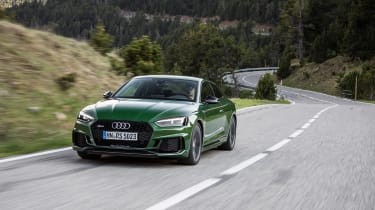 Audi RS5 - front three quarter