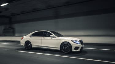 Mercedes-Benz S-class – side