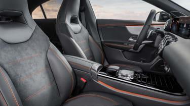 Mercedes CLA 2019 revealed - seats