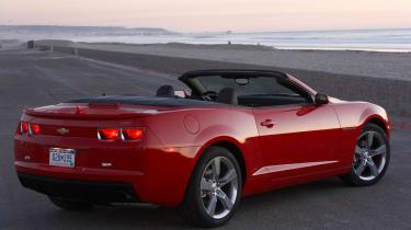 Chevrolet Camaro convertible review