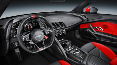 Audi R8 Audi Sport Edition - interior