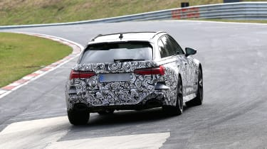Audi RS6 Avant spied 2019 (body-on) - tail