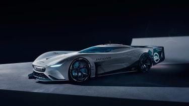 Jaguar Vision Gran Turismo SV Concept - front quarter