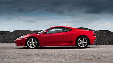 Ferrari 360 Modena side profile