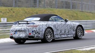 2021 Mercedes SL Spy - rear quarter