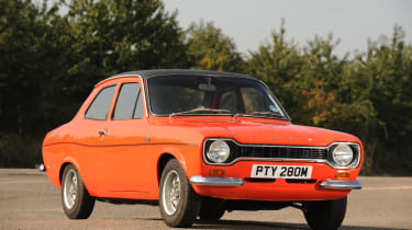 Ford Escort Mexico – front quarter