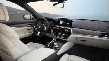 BMW 6-series GT - interior