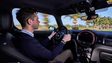 2018 Mini Cooper S hatch - interior