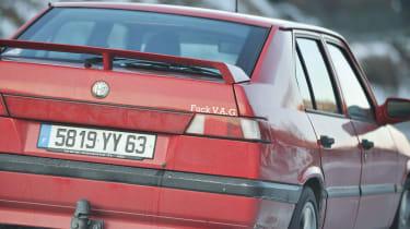 Alfa Romeo 33 with interesting sticker