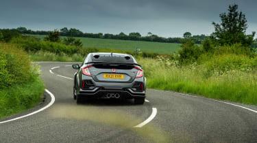 Honda Civic Type R Sport Line – rear cornering