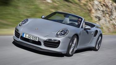 2013 Porsche 911 Turbo front