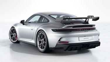 Porsche 911 GT3 992 rear