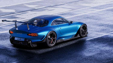 Alpine A110 GTA concept – rear quarter