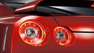 Nissan GT-R 2014 model year rear lights