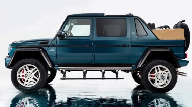 Mercedes-Maybach G650 Landaulet - side profile