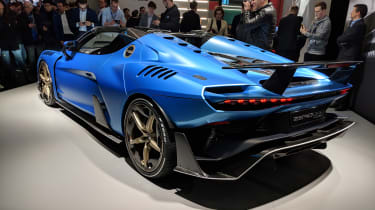 Italdesign Zerouno Duerta rear