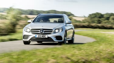 Mercedes E400d Estate review - nose